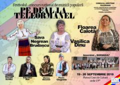 """Regulamentul Festivalului concurs-naţional  de muzică populară"""" Pe deal la Teleormanel"""" editia a 49-a"""