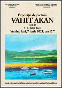 """Expozitie de pictura """"Vahit Akan"""""""