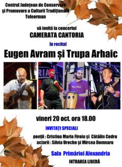 """Recital  de muzică şi poezie sub titlul ''Camerata Cantoria"""""""