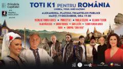 TOŢI  K1 PENTRU ROMÂNIA-UNIREA, VISUL UNEI NAŢIUNI