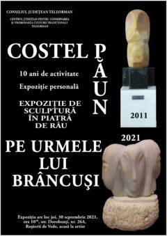 Sculptorul Costel Păun-10 ani de activitate artistică